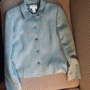 Pendleton blue blazer , size 6